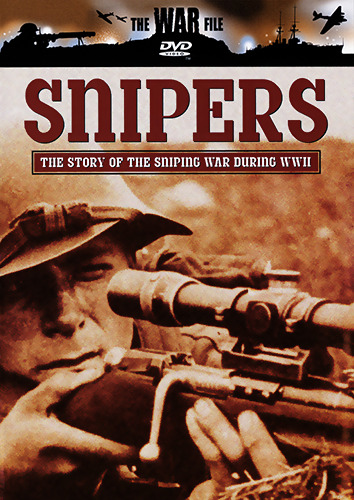 SNIPERS - THE STORY OF THE SNIPING WAR DURING WORLD WAR 2 DOCUMENTARY DVD