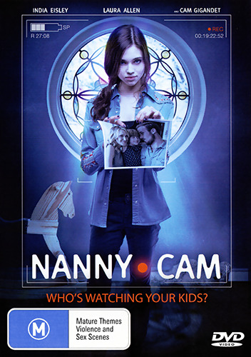 India Eisley Renee Felice Smith NANNY CAM - CHILD ABDUCTION THRILLER DVD