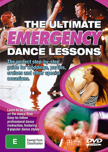 THE ULTIMATE EMERGENCY DANCE LESSONS - LEARN BALLROOM & LATIN DANCING DVD