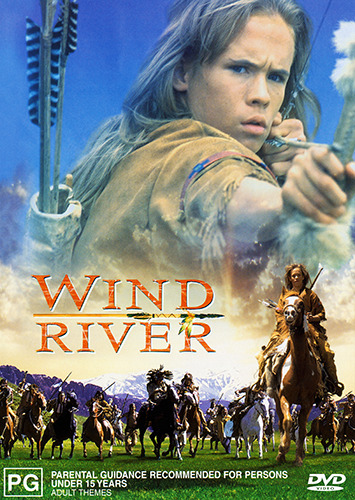 Blake Heron WIND RIVER - WHITE INDIAN BOY TRUE STORY WESTERN DVD