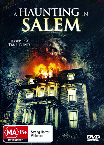A HAUNTING IN SALEM - HAUNTED HOUSE TRUE STORY GHOST HORROR DVD