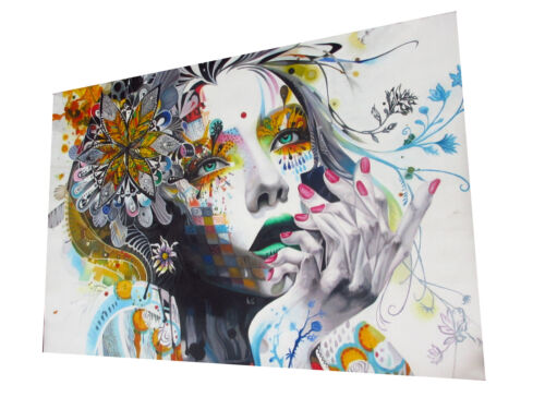 A0 art painting canvas print  graffiti street  Urban princess modern Australia