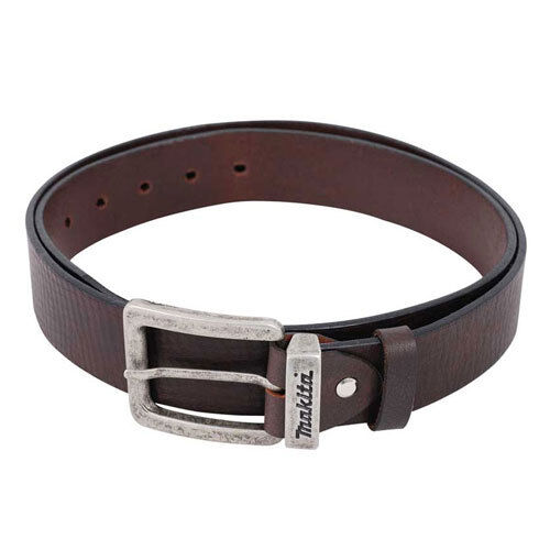 """Makita P-72229 Leather Belt Brown Size M fits 31"""" to 38"""" (NEW) Tool Belt"""