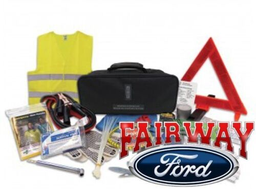 Lincoln Factory Emergency Roadside Assistance Kit - Tools, Safety Gear & More! <br/> Brand New OEM Genuine Ford Parts from a Ford Dealership