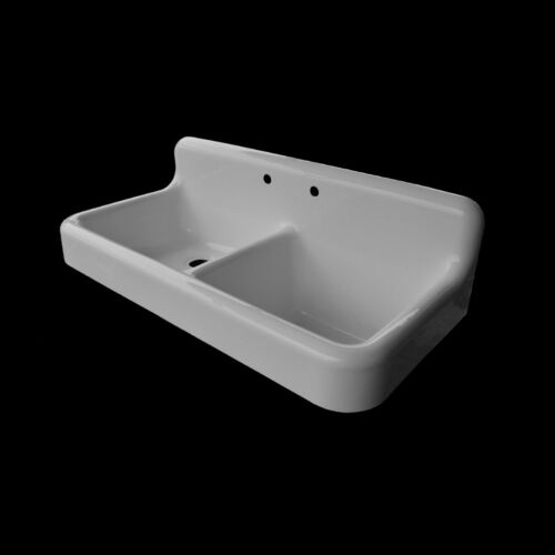 Reproduction Double Bowl Farmhouse Kitchen Sink #DBA5124