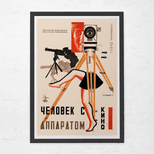 RUSSIAN AVANT GARDE Poster - Russian Constructivism Art - Old Time Movie Poster