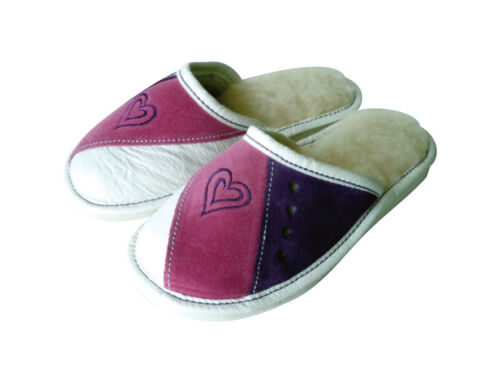 Girls' Wool Slippers Winter Shoe Size 8.5 - 2.5 Thick sole Extra Durable (26)