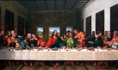 Modern Home decor Prints oil painting art on canvas (No Frame) Last Supper HDB01