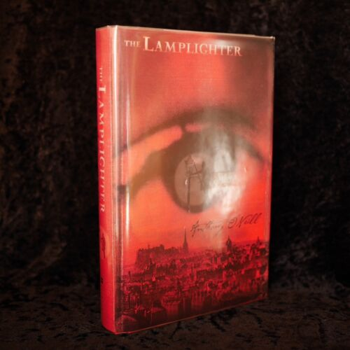 The Lamplighter Anthony O'Neill Signed First Edition Hardcover