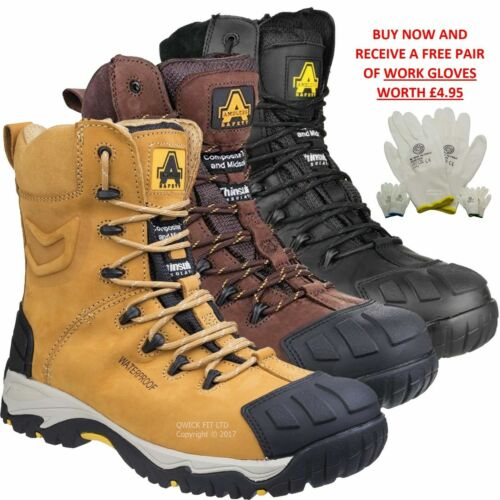 MENS MAXSTEEL SAFETY BOOTS ARMY MILITARY COMBAT POLICE STEEL TOE CAP WORK SHOE <br/> RRP £109 WATER RESISTANT SECURITY UNISEX LIGHTWEIGHT