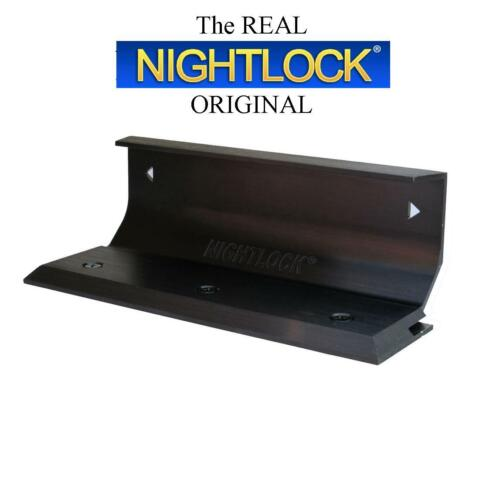 BLEMISHED Door Barricade Brace The NIGHTLOCK Security Lock DARK BRONZE FINISH