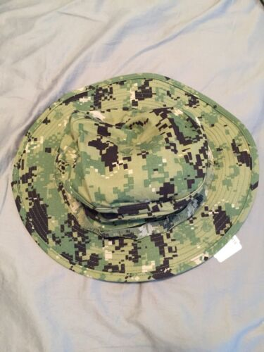 Buy   35.0 NWT NWU Type III Navy Seal AOR2 Digital Woodland Boonie Hat SUN  COVER size SMALLHats   4d9ff619e44f