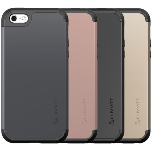 LUVVITT ULTRA ARMOR iPhone SE 2016 Case | Dual Layer Back Cover