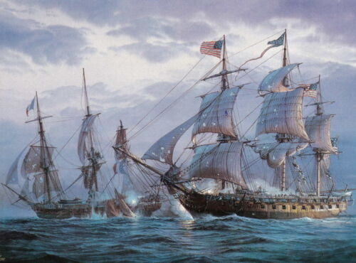 Best Gift Home Decor ship Naval Battle Oil Painting Picture HD Printed On Canvas