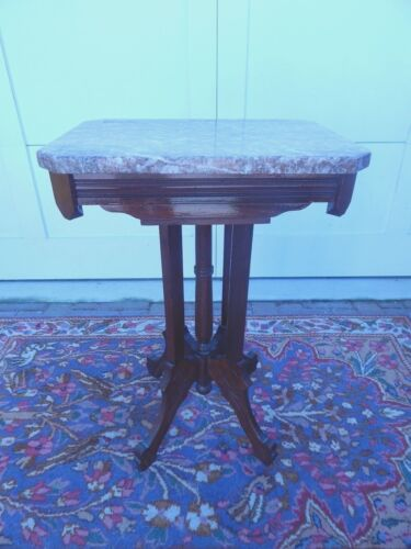Mahogany Marble Top Table Antiques Us