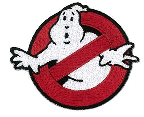 Hook Fastener Ghostbusters Patch Cazafantasmas Parche Bordado GanchoParches - 4725