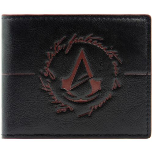 Cool Assassins Creed Unity Logo Red & Black Bi-Fold Wallet