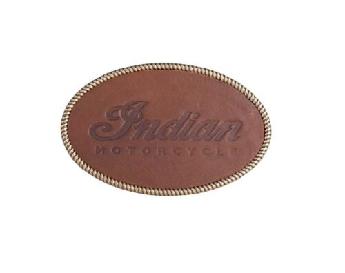 Indian Embossed Leather Buckle