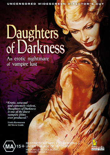 DAUGHTERS OF DARKNESS - STYLISHLY EXPLICIT EROTIC LESBIAN VAMPIRE HORROR DVD
