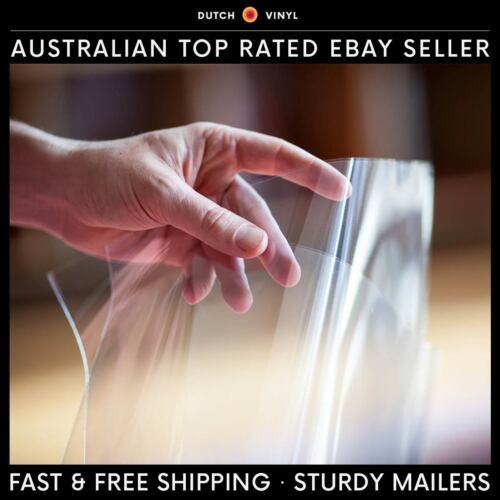 "50 x Record Outer Sleeves for Single Vinyl 12"" LP's Blake Crystal Clear Premium <br/> Designed to fit single and some double vinyl albums."