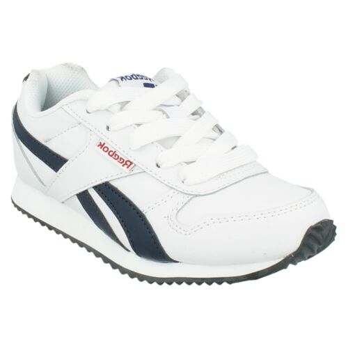 Boys Reebok Royal CLJogger Lace Up Shoes Walking Sports Casual Wear Trainer