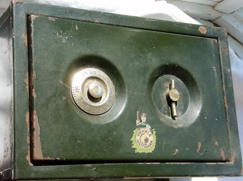 Vintage Wehrle Watchman Small Wall Safe No Combo