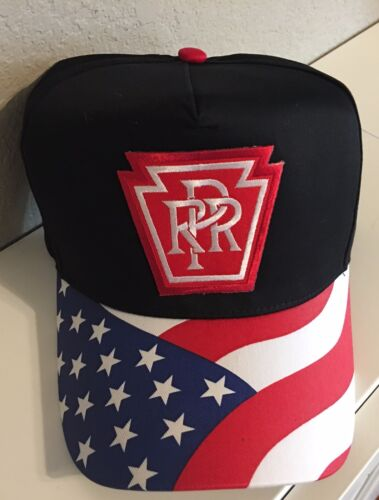 Cap / Hat - PRR Pennsylvania Railroad - flag colors #7389- NEW