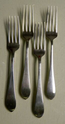 *** 4 Old Colony New Gorham Sterling Silver Forks ***