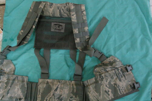 NEW / FLC / USAF Military Issue / DF-LCS / ABU / Rifleman H / Harness / S / M