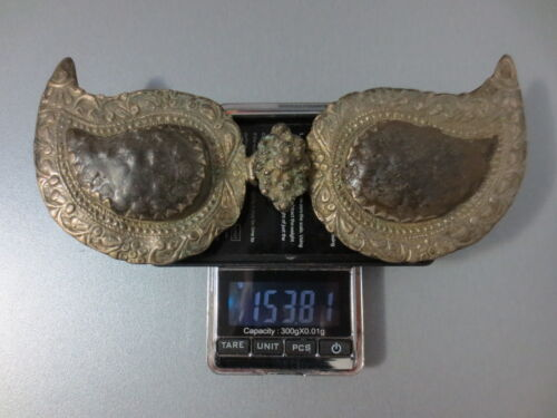 TOP PRICE! EXTREMELY OLD OTTOMAN Silver Alloy BELT BUCKLE Macedonian - RARE!
