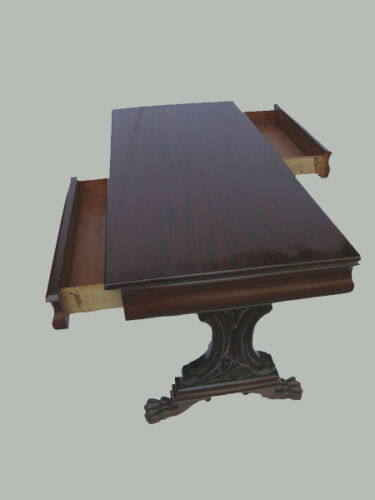 WILLIAM IV LIBRARY TABLE