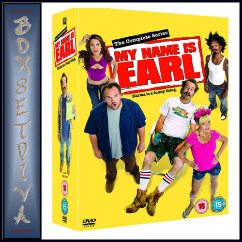 MY NAME IS EARL - COMPLETE SERIES - SEASONS 1 2 3 & 4 *BRAND NEW DVD BOXSET*