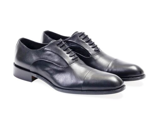 100% Mens Leather. Oxford - Shoes
