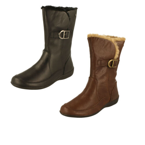 Ladies Padders Warm Lined Boots - Camden