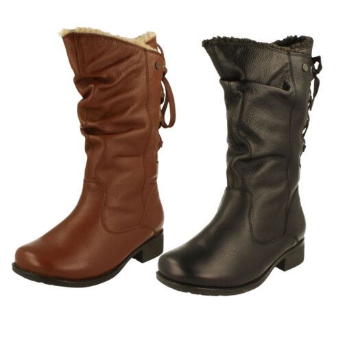 Ladies Padders Mid Calf Boots - Piper
