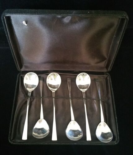Boxed set of six Australian sterling silver spoons  Great Gift