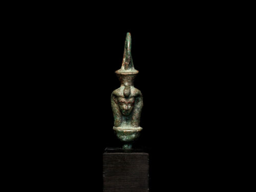 Egyptian Bronze Wadjet