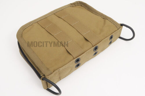 USMC Military Coyote Field Notebook Pouch Case Bag - Genuine - NEW - USA MadeBags & Packs - 74712