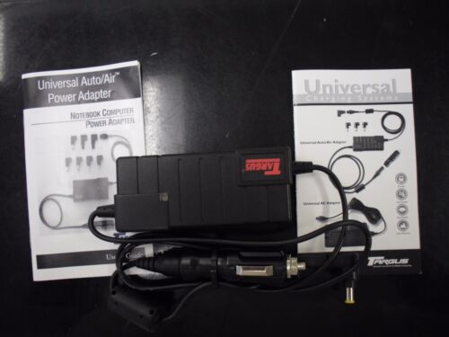 New Targus PA350U/ASV Universal Auto/Air Notebook Adapter <Contains Tip 20>