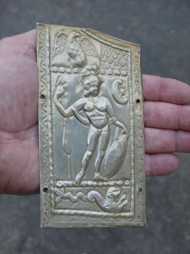 Rare Brian Stobbs Roman armor armour silver chest plate guard exact ancient copy