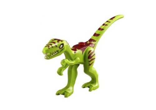 Lego NEW Series 12 Dino Tracker Minifigure w//  Green Coelphysis Dinosaur 30320
