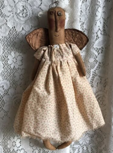 PRIMITIVE ANGEL DOLL PATTERN!! MAILED!! PERFECTLY PRIM EVERYDAY DOLL PATTERN