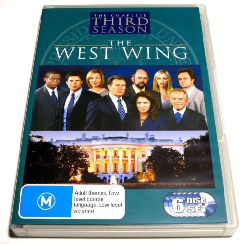 DVD, The West Wing The Complete Third (3rd) Season, 6 Discs, R4