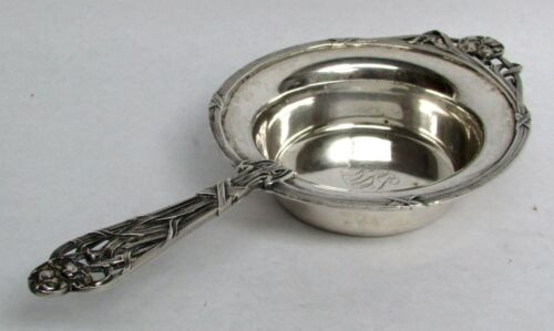 EXCEPTIONAL SAN FRANCISCO SHREVE & CO STERLING SILVER ART NOUVEAU PORRINGER