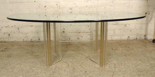 Mid-Century Modern Lucite Coffee Table (2012)NS