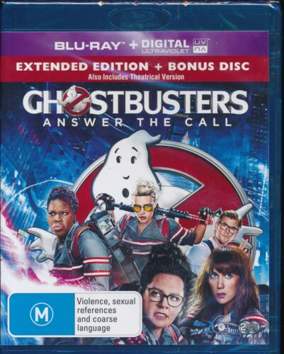 Ghostbusters Answer The Call Blu-ray Bluray NEW digital Ultraviolet