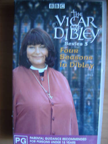THE VICAR OF DIBLEY ~ FOUR SEASONS IN DIBLEY ~ VHS VIDEO ~ 160 MINUTES