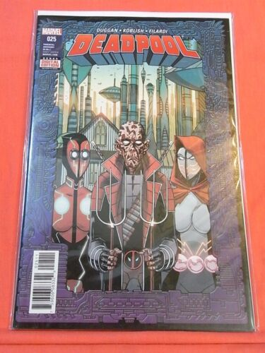 DEADPOOL #25 - Double Sized 52pgs - bagged & boarded..!!
