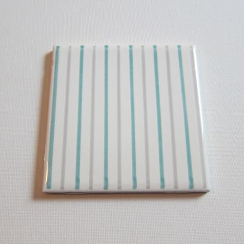 "Vintage 1960s 4"" x 4"" Wall Tile, 300 Sq Ft Available, Made in Italy"
