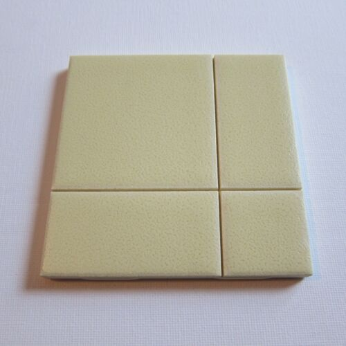 "Vintage 1960s 4"" x 4"" Wall Tile, 150 Sq Ft Available, Made in the USA"